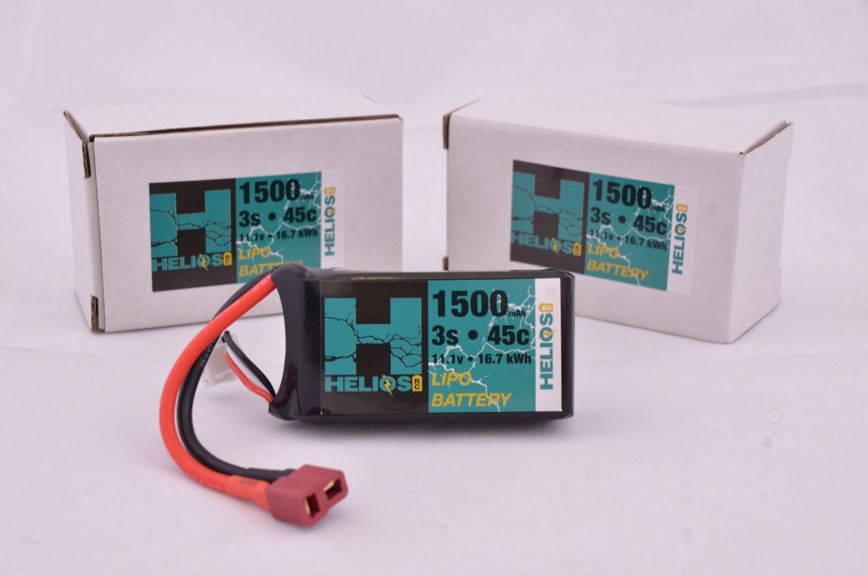 Helios R/C 3S 1500 mAh 45c Lipo (XT60)