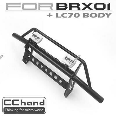 CChand Buffalo Front Bumper + IPF LED Light for Boom Racing BRX01