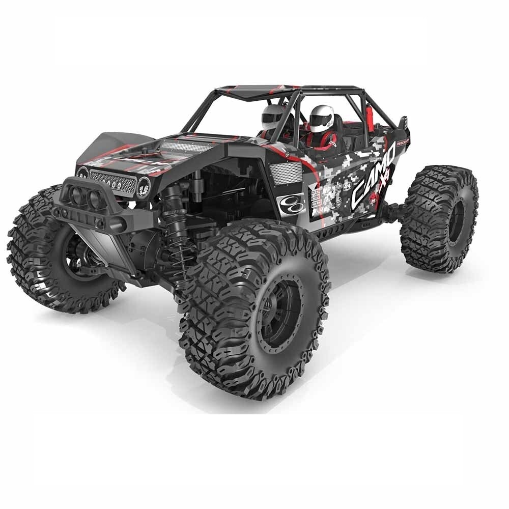 Redcat Racing Camo X4 1/10 Scale Brushless Electric Rock Racer