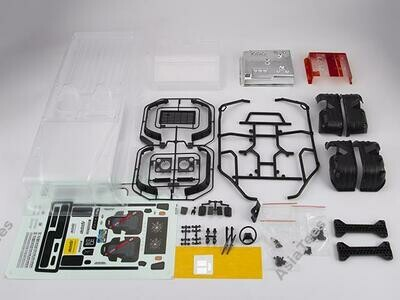 Killerbody Marauder II Clear Body Fit For Axial SCX10 & SCX10 II Chassis