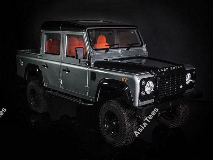 Boom Racing 1/10 ARTR Assembled D110 Chassis w/ TRC Raffee Defender D110 Pickup Truck Hard Body