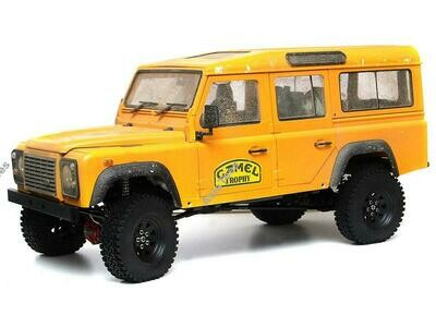 Boom Racing 1/10 ARTR Assembled D110 Chassis w/ TRC Raffee Defender D110 Station Wagon Hard Body
