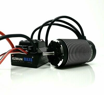 Hobbywing - EzRun SL 5687 1100KV Motor, w/ Max6 Waterproof ESC - Brushless Combo