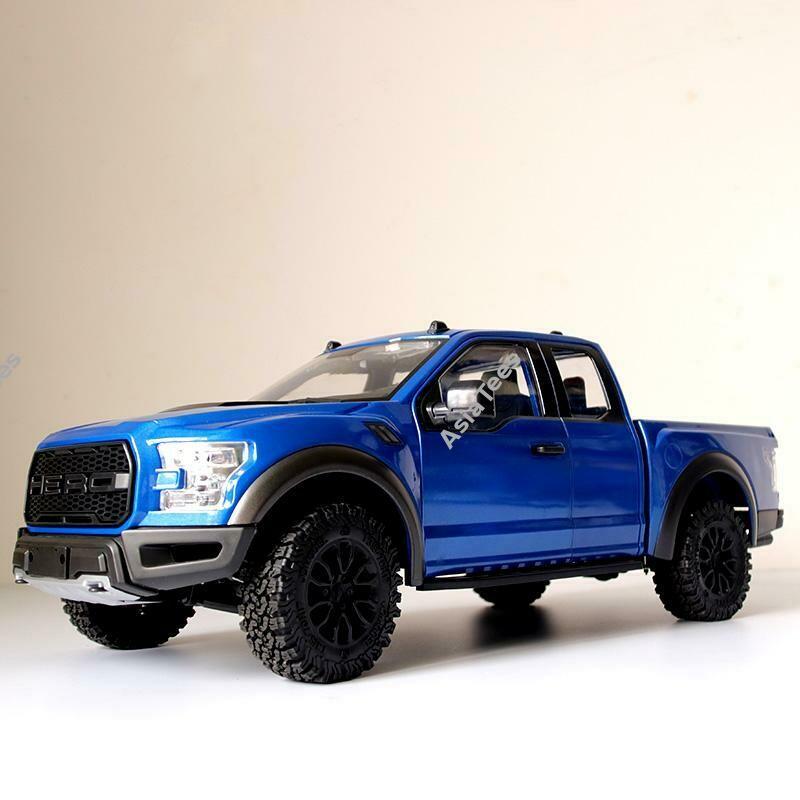Team Raffee Co. 1/10 4WD Crawler Truck ARTR with JD Hero Body Blue