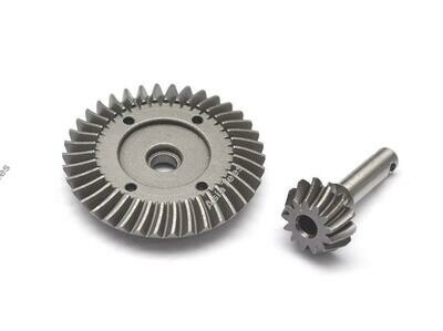 Boom Racing Heavy Duty Bevel Helical Gear Set - 38T/13T For All 1/10 Axial Trucks [RECON G6 The Fix Certified]