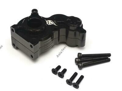 Boom Racing Aluminum Center Gearbox - 1 Pc Black [RECON G6 The Fix Certified] for Axial SCX10