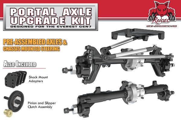 Redcat Racing Gen7 Portal Upgrade Axle Set
