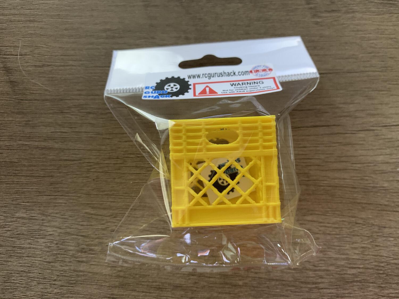 Rc Guru Shack Yellow Crate
