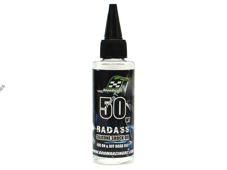 Boom Racing BADASS Silicone Shock Oil 50wt 60ml