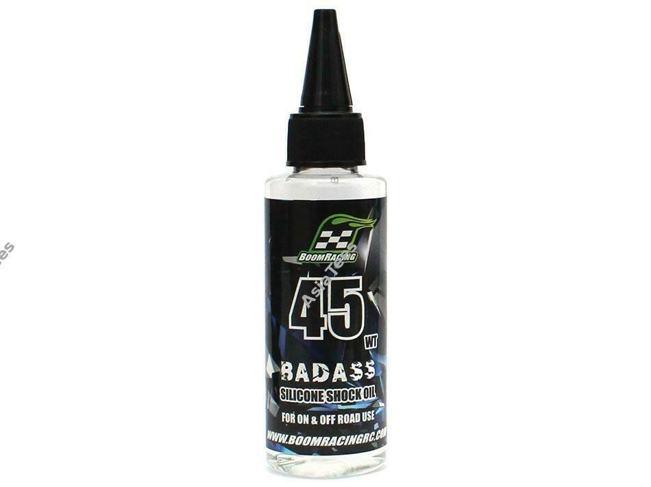 Boom Racing BADASS Silicone Shock Oil 45wt 60ml