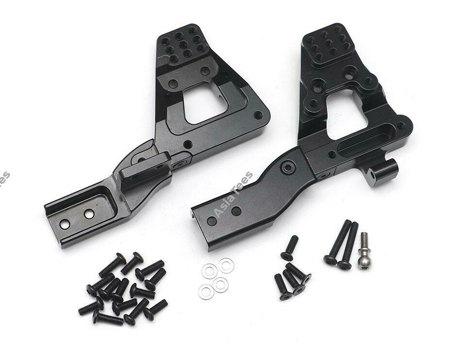 Team Raffee Co. Aluminum Front Shock Tower Mount (2) Black for Redcat Gen8 Scout II