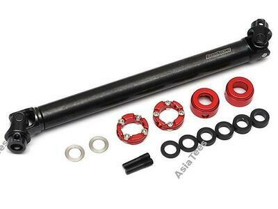 Boom Racing BADASS™ Heavy Duty Steel Center Drive Shaft 128-156mm (Pin to Pin) 1Pc