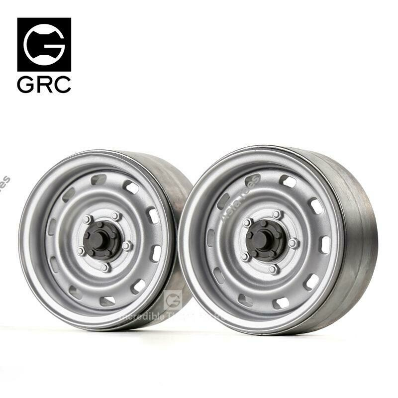 GRC 1.9 Metal Classic Wheel #Series V Silver (2)