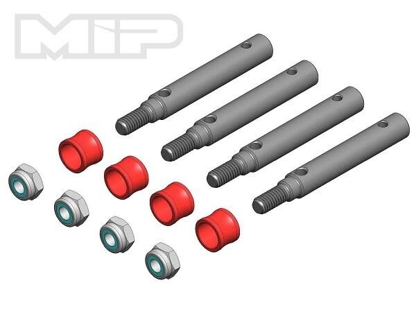MIP Wide Track Kit, 4mm Offset, Traxxas TRX-4 - 18260