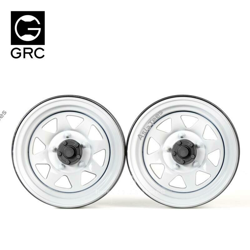 GRC 1.9 Metal Classic Wheel #Series IV White (2)