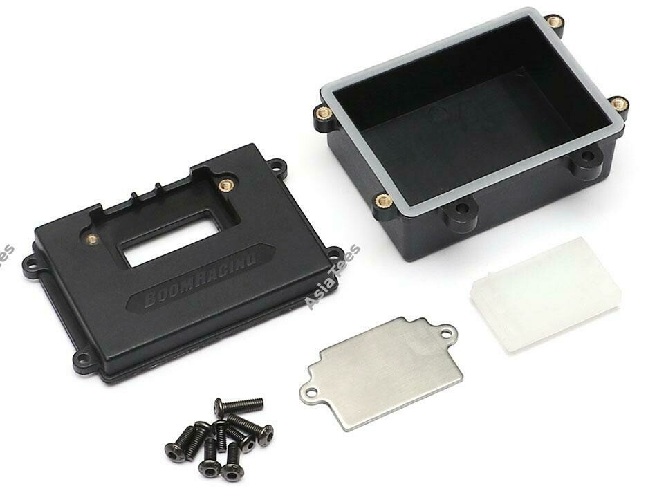 Boom Racing Universal Receiver Box Set w/ Silicone Seals