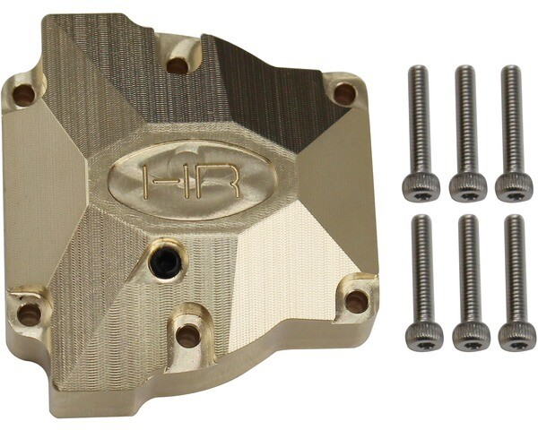 Hot Racing Heavy Brass Differential Cover, for Red Cat Gen 8