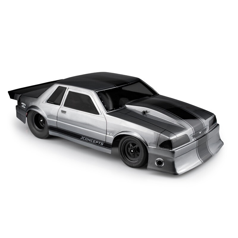 Jconcepts 1991 Ford Mustang Fox Clear Body