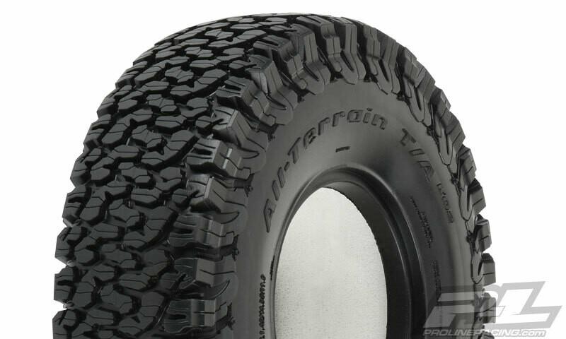 "Proline BF Goodrich All-Terrain KO2 1.9"" G8 Compound Rock Terrain Tires"