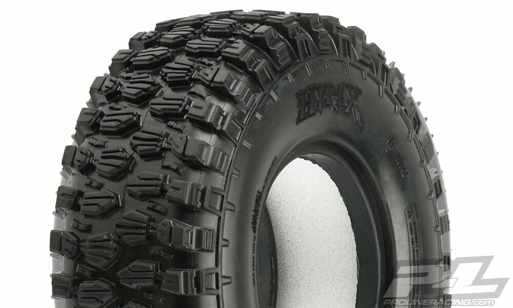 "Proline Class 1 Hyrax 1.9"" (4.19"" OD) G8 Rock Terrain Truck Tires (2) for Front or Rear"