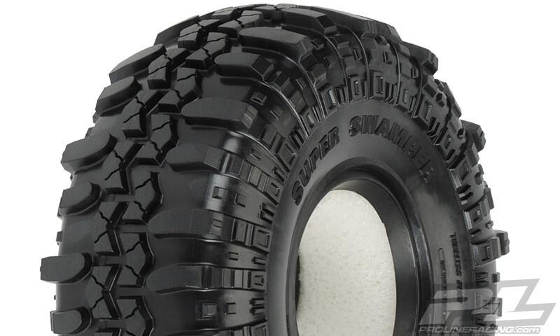 """Proline Interco TSL SX Super Swamper XL 1.9"""" G8 Rock Terrain Tires"""
