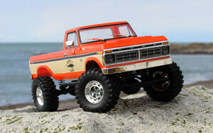 Carisma SCA-1E 1/10 '76 Ford F-150 4WD Scale Crawler RTR, (324mm Wheelbase) Orange