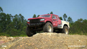 Cross R/C VR4A 1/10 Demon 4x4 Crawler Kit - Lexan Body