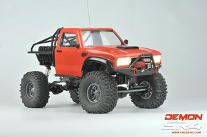 Cross R/C SR4A 1/10 Demon 4x4 Crawler Kit, w/ Lexan Body