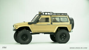 Cross R/C FR4A 1/10 Demon 4x4 Crawler Kit, Lexan SUV Body