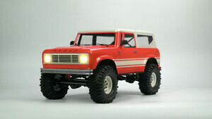 Cross R/C KR4A 1/10 Demon 4x4 Crawler Kit- Lexan Body