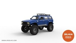 Cross R/C SU4A 1/10 Demon 4x4 Crawler Kit - Full Hard Body SUV