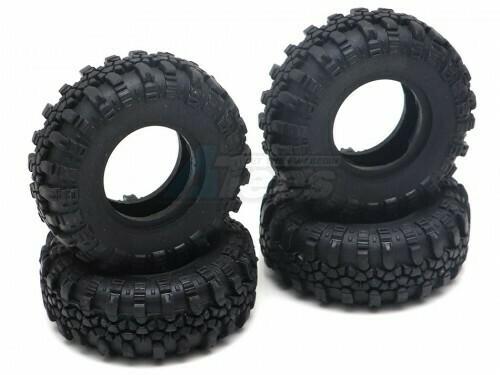 RGT Swamper Tire Set for ECX Barrage/ FTX Outback/ RGT Adventurer for 1/24 ADVENTURER