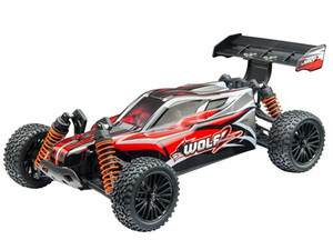 DHK Wolf 2 Buggy RTR, 1/10 Scale, 4WD, w/ Battery, and Charger