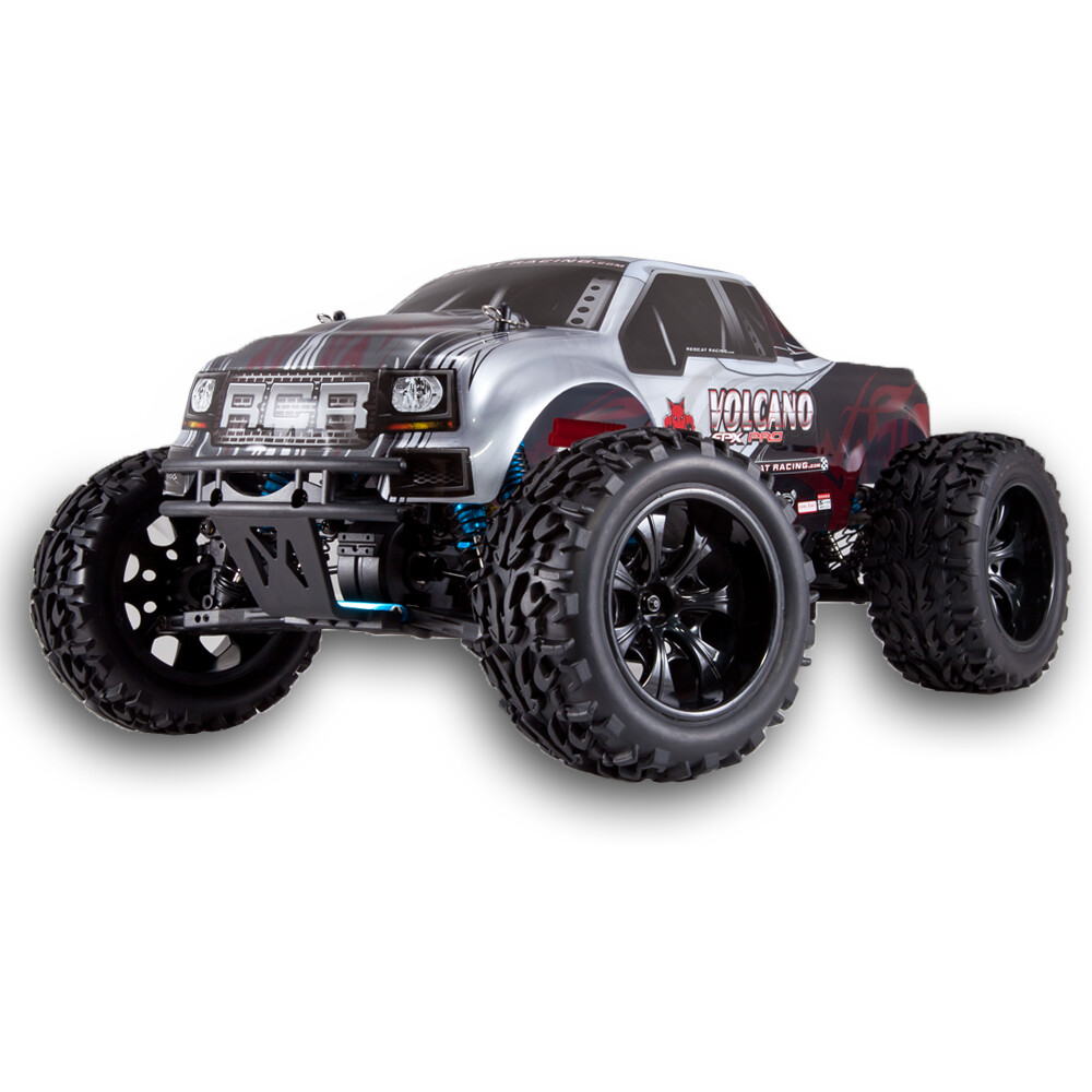 Redcat Racing Volcano EPX PRO 1/10 Scale Electric Brushless Monster Truck (Silver)