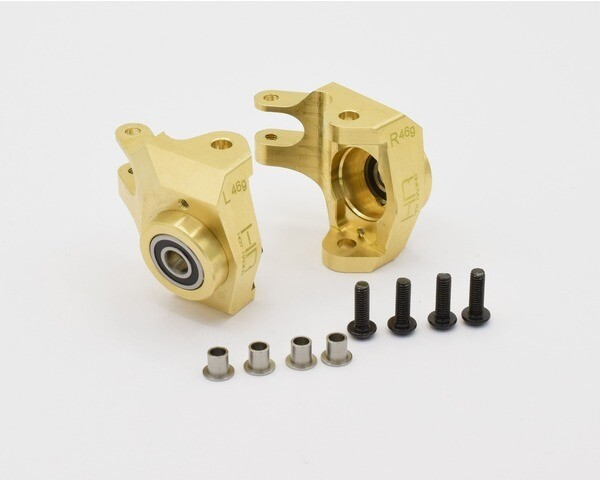 Hot Racing Brass Bearing Front Knuckle for Axial SCX10 II