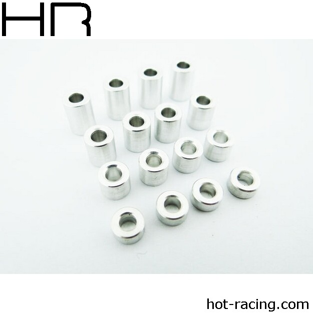 Hot Racing M3 3 -9mm Aluminum Standoff Spacer (16)
