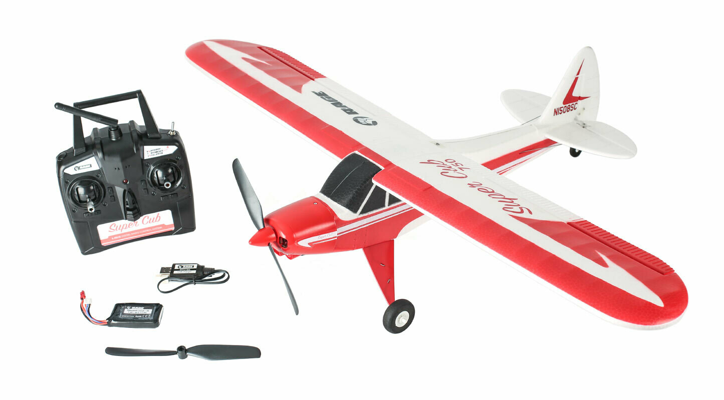 Rage R/C Super Cub 750 RTF 4-Channel Aircraft
