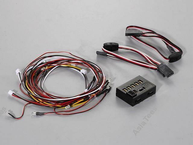 Killerbody LED Light System w/ Control Box 14 LEDS (3mm: 10 LEDS; 5mm: 4 LEDS)
