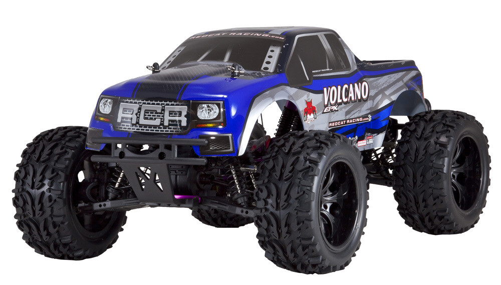 Redcat Racing Volcano EPX 1/10 Scale Electric Monster Truck (Blue)