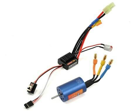 Hobbywing EZRun 18A Sensorless Brushless ESC/Motor Combo (12.0T/7800kV) w/Program Box