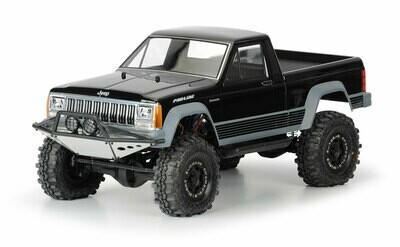 Proline Racing Jeep Comanche Full Bed Clear Body for 12.3