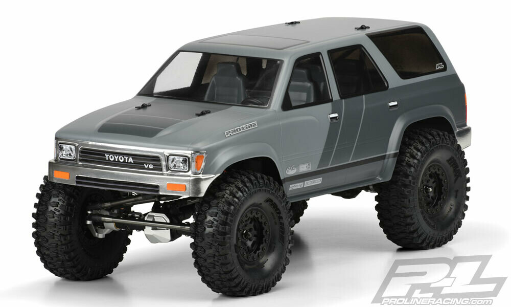 """Proline 1991 Toyota 4Runner Clear Body for 12.3"""" Wheelbase Scale Crawlers"""