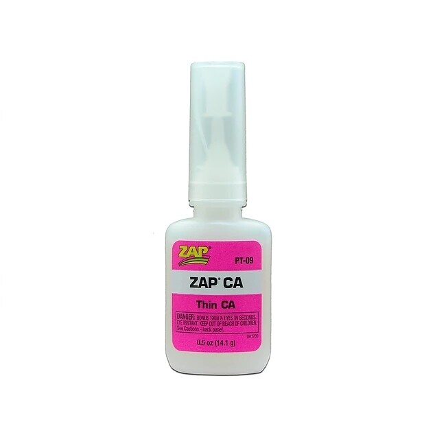Zap CA Glue 1/2oz Bottle