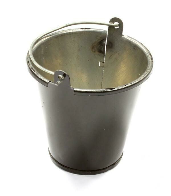 Realistic 1/10 Scale Large Size Metal Bucket for Off-Road Crawling C25562BLACK