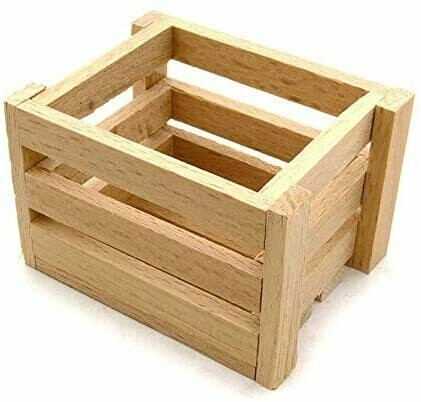 Realistic Wooden Crates DIY Building Kit for 1/10 Scale Crawler Truck C26604