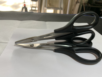 Dixieland R/C HSS Curved and Straight Scissor for Lexan