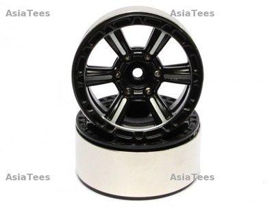 Boom Racing EVO™ 1.9 High Mass Beadlock Aluminum Wheels Splite-6 (2)