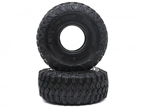 """Boom Racing HUSTLER M/T Xtreme 2.2"""" RR Rock Racing Tires Snail Slime Compound w/ 2-Stage (Open/Closed) Foams 5.5""""x2.0"""" (139x51mm) Super Soft"""