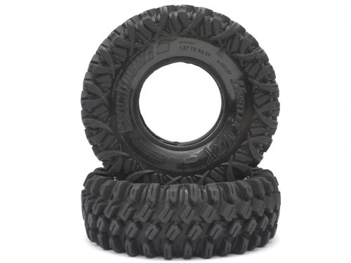 Boom Racing HUSTLER M/T Xtreme 1.9 Rock Crawling Tires 4.45x1.57 SNAIL SLIME™ Compound W/ 2-Stage Foams (Super Soft)