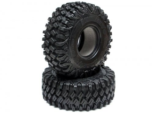 Boom Racing HUSTLER M/T Xtreme 1.9 MC2 Rock Crawling Tires 4.75x1.75 SNAIL SLIME™ Compound W/ 2-Stage Foams (Super Soft)